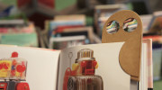 Owl Magnifier Bookmark